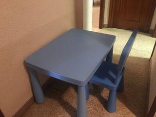 mesa y silla para niño de Ikea