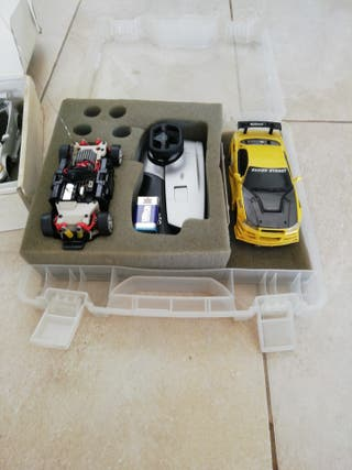 2 coches de radio control
