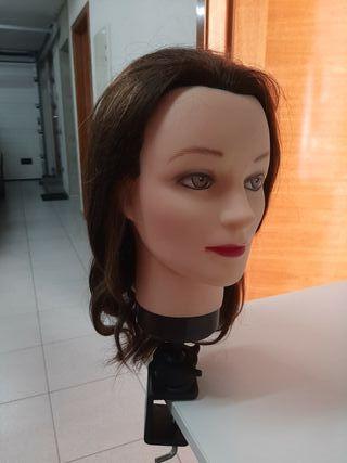 Cabeza peluquería maniquí
