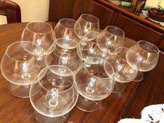 Copas cognac cristal