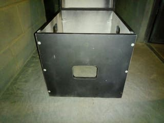 Caja asiento wc químico