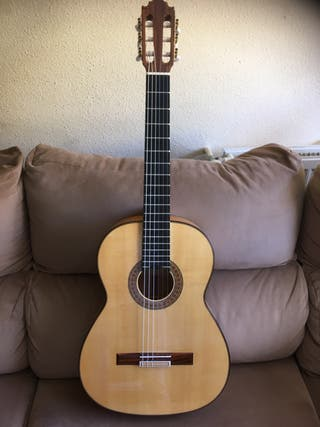 Guitarra Vicente Carrillo Alegrias Blanca 2019