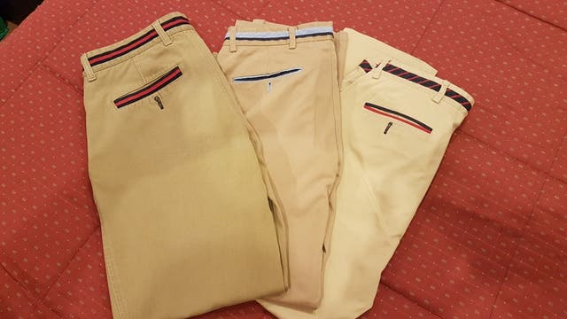 "Pantalón de caballero marca ""el ganso"""