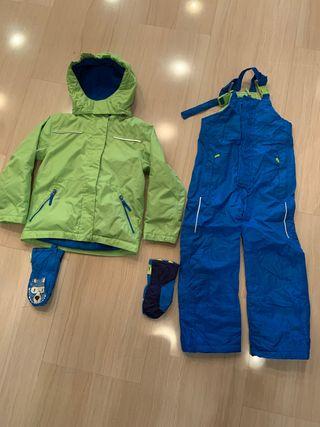 Conjunto ropa de esquí