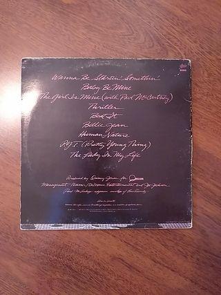 Vinilo de Michael Jackson - Thriller