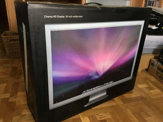 "Monitor Apple Cinema Display 30"" como nuevo"