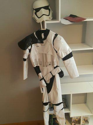 Star Wars disfraz.