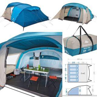 tienda camping acampada campaña