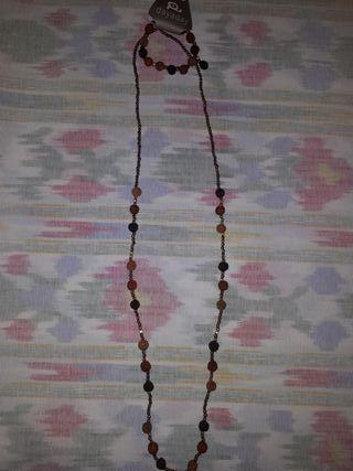 Conjunto collar y pulsera