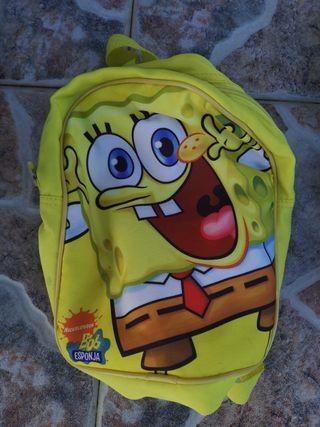 mochila Bob esponja