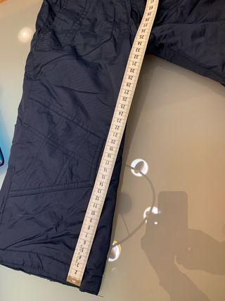 Pantalón peto de nieve