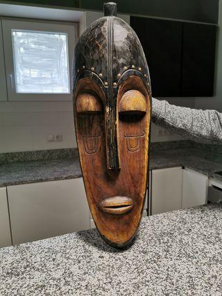 Máscara Africana de Madera maziza