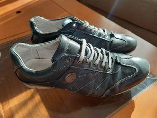 Zapatillas Vintage Springfield - Cuero_Casual