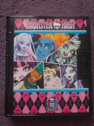 Diario secreto de las Monster High