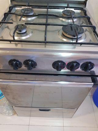 oferta cocina + horno de butano