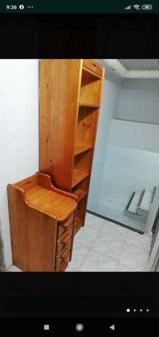vendo muebles de madera de pino