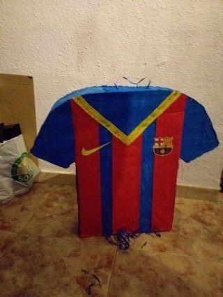 piñata camiseta fútbol