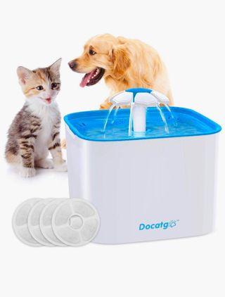 Fuente de agua para perros y gatos