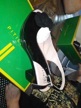zapatos pitillos nuevos sin usar ni una vez...