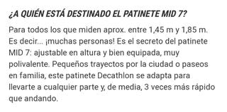 Patinete OXELO