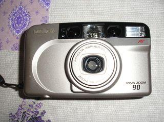 Camara Minolta Riva Zoom 90