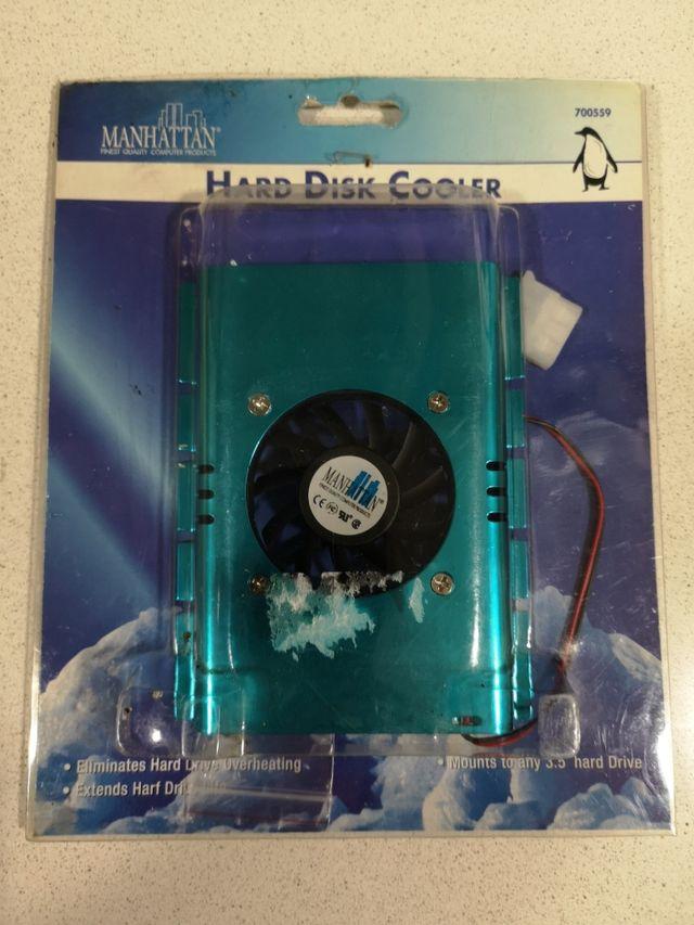 Refrigerador de disco duro Manhattan