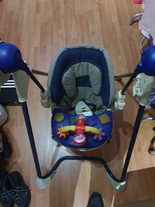 Columpio de Bebé eléctrico