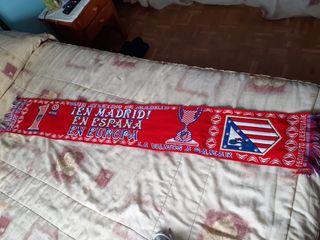 Bufanda del Atlético de Madrid 2013