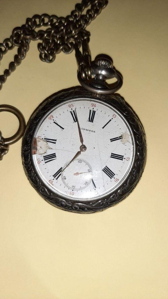 longines reloj de bolsillo