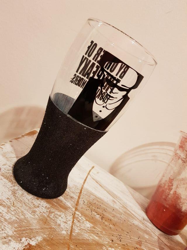 peaky blinders pint glass