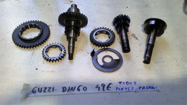 Piñones de Guzzi Dingo