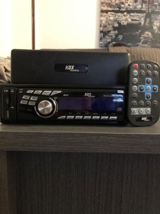 Autorradio KDX Audio