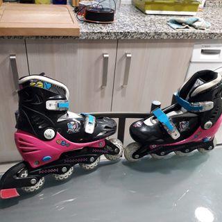 patines Monster high talla 30 al 33