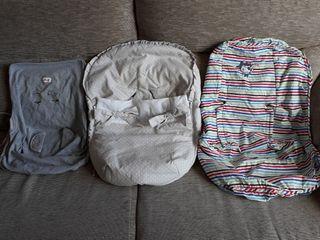 3 fundas saco silla bebe Maxicosi Cabriofix