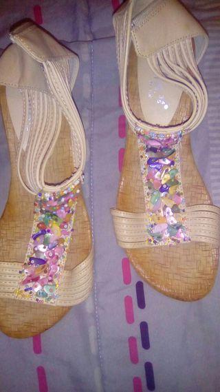 sandalia de verano