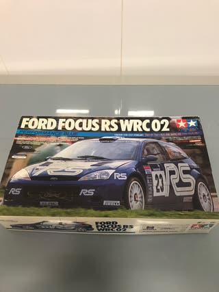Maqueta Ford Focus RS WRC 02 Tamiya