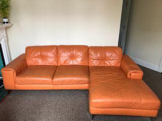 x2 - Sofa with chaise + Individual sofa