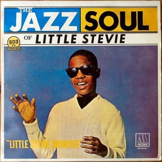 """STEVIE WONDER """"THE JAZZ SOUL OF LITTLE STEVIE"""" LP"""