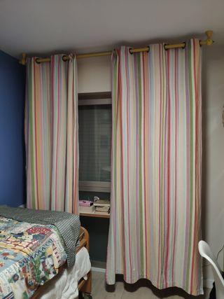 cortinas infantil juvenil