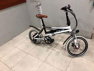 Bicicleta CityBoard Tourneo plegable electrica