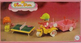 Triciclo con Remolque Pin y Pon