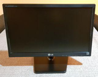 """Monitor LG 19"""" FLATRON E1942 + adaptador para HDMI"""