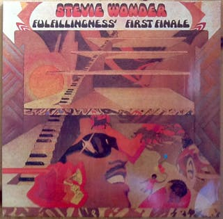 "STEVIE WONDER ""FULFILLINGNESS FIRST FINALE"" LP"