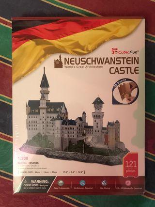 Puzzle castillo alemán 3D