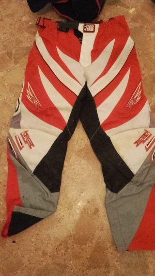 Pantalón moto cross