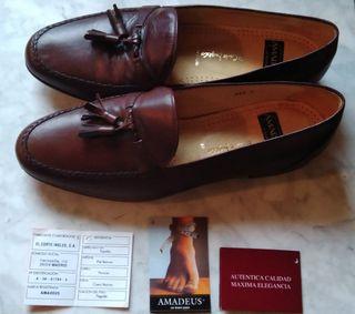 Zapatos Amadeus t43/44 piel estrenar