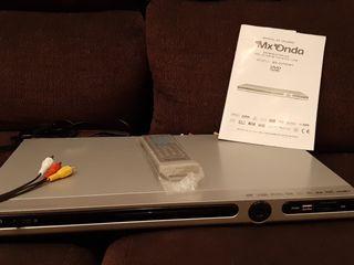 Reproductor DVD con lector de tarjetas y USB