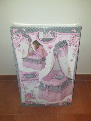 moisés para muñecas apenas si uso