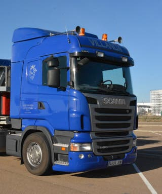 Vendo camion scania R480 con tarjeta de transporte