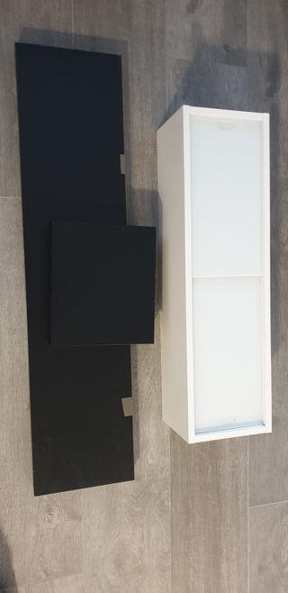 mueble y estanterias